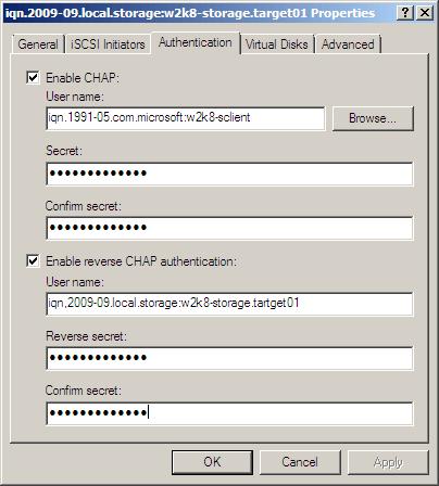 Как защитить iscsi в windows server 2008R2-01