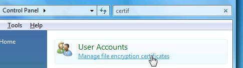 Как зашифровать данные в Windows 8 с помощью EFS-07