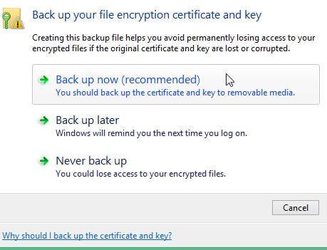 Как зашифровать данные в Windows 8 с помощью EFS-08