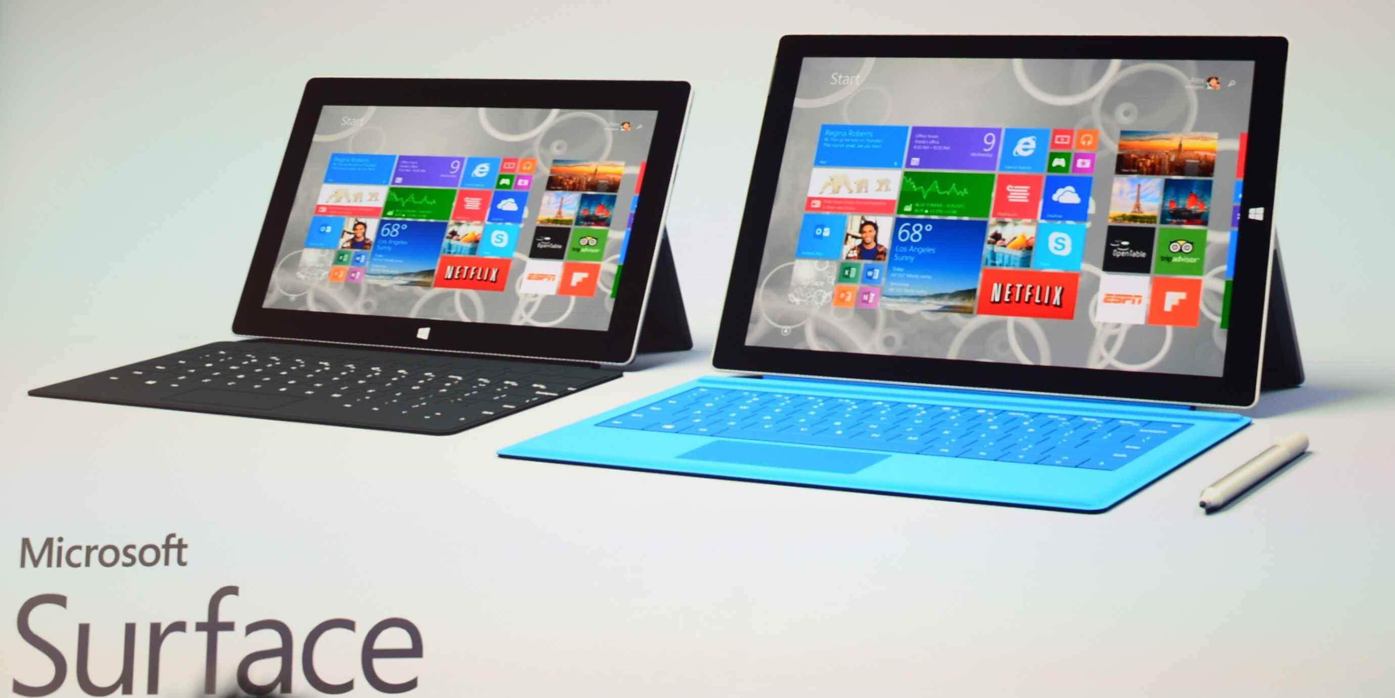 Неофициально анонс планшета Surface 3 ожидается в октябре