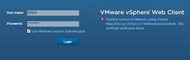 Ошибка при аутентификации Windows в WEB-клиенте VMWare vCenter-01