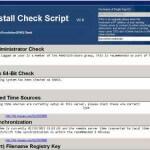 Утилита VMware vCenter 5.1 Pre-Install Check Script, проверит сервер для возможности установить vCenter 5.x.x