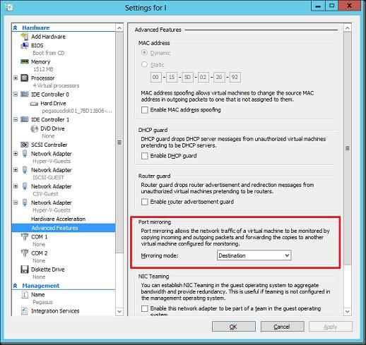 как настроить порт для smtp сервера: