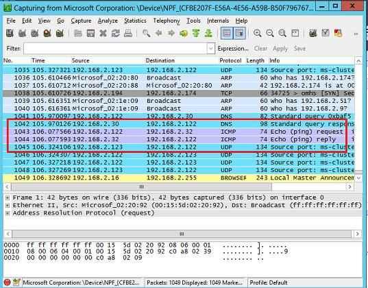 Как настроить зеркалирование портов в Hyper-V 2012R2-05