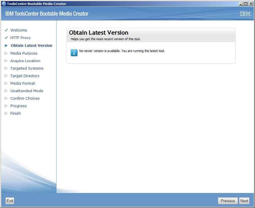 Как обновить все прошивки на IBM сервере с помощью IBM Bootable Media Creator (BoMC)-05