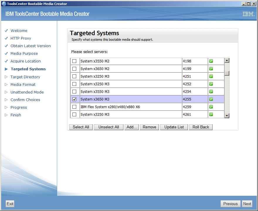 Как обновить все прошивки на IBM сервере с помощью IBM Bootable Media Creator (BoMC)-08