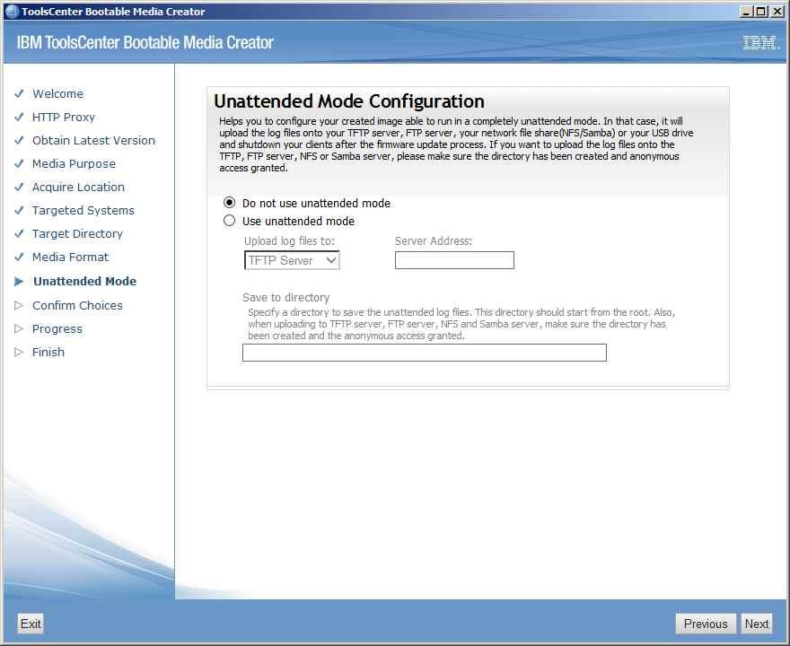 Как обновить все прошивки на IBM сервере с помощью IBM Bootable Media Creator (BoMC)-11