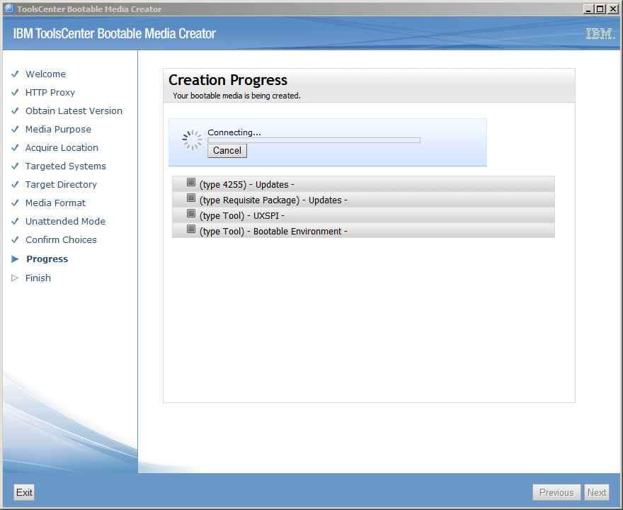 Как обновить все прошивки на IBM сервере с помощью IBM Bootable Media Creator (BoMC)-13