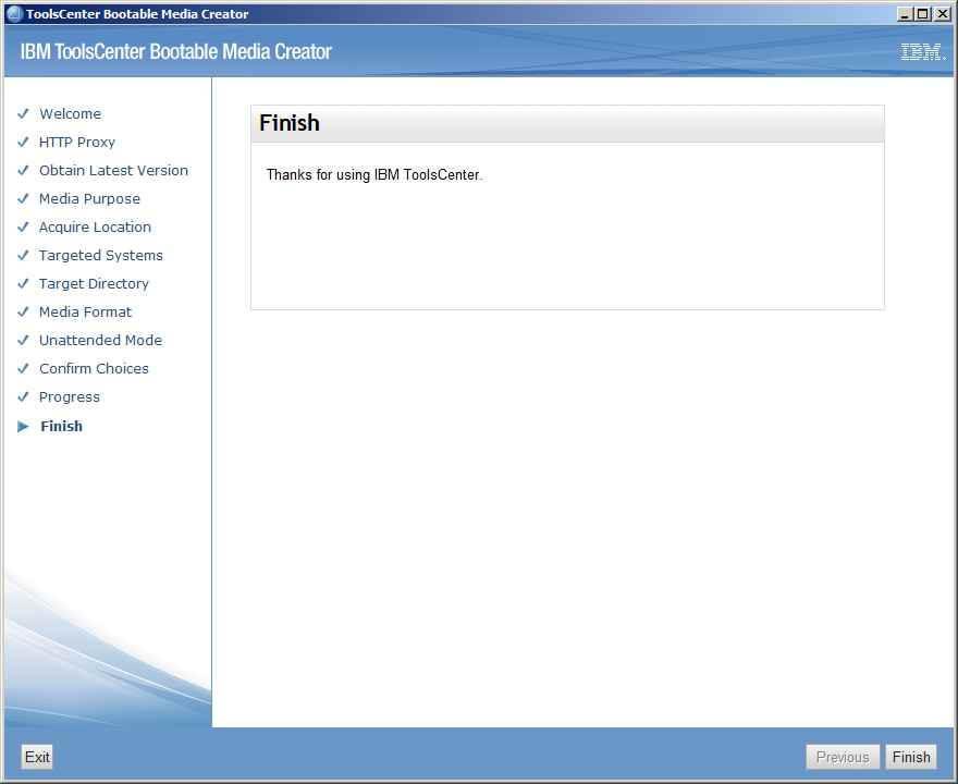 Как обновить все прошивки на IBM сервере с помощью IBM Bootable Media Creator (BoMC)-16