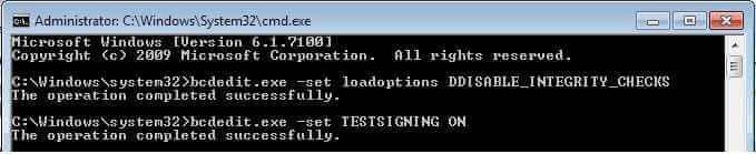 Как отключить проверку цифровой подписи драйвера в Windows 7-08