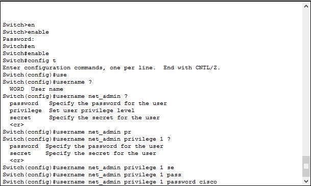 Как поставить пароль на вход через console порт в Cisco на примере Cisco 2960+48TC-S-01