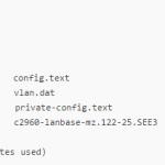 Как сбросить пароль в Cisco и сохранить старый конфиг на примере Cisco 2960+48TC-S