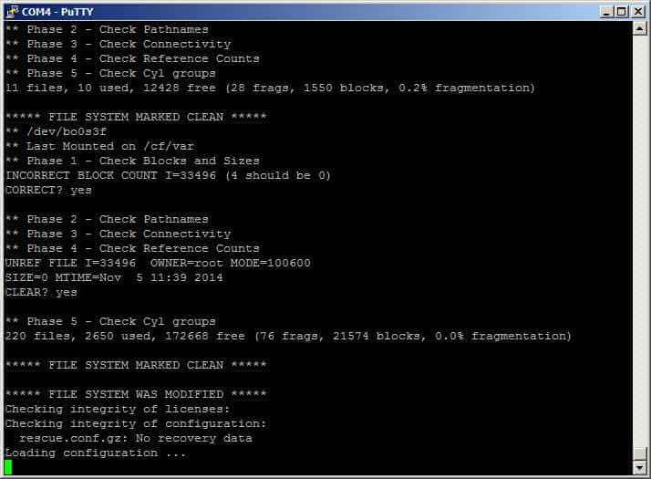 Как сменить пароль root в Juniper SRX-07