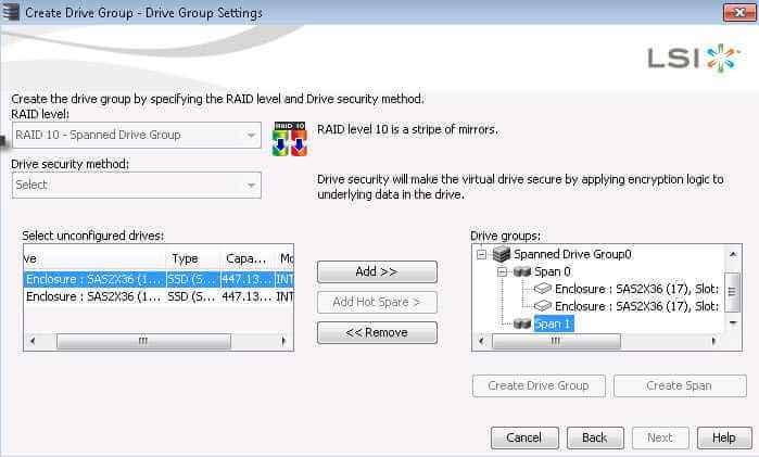Как создать RAID на контроллере LSI MegaRAID через утилиту MegaRAID Storage Manager-20