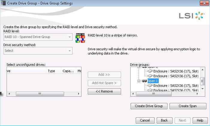 Как создать RAID на контроллере LSI MegaRAID через утилиту MegaRAID Storage Manager-21