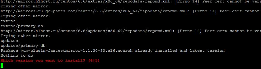 Как установить 1С Битрикс (Bitrix) на CentOS 6.6-13