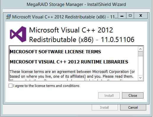 Как установить MegaRAID Storage Manager (MSM) в windows server 2012R2-03