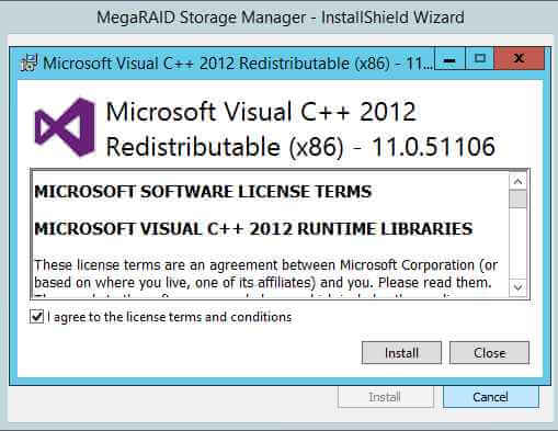 Как установить MegaRAID Storage Manager (MSM) в windows server 2012R2-04