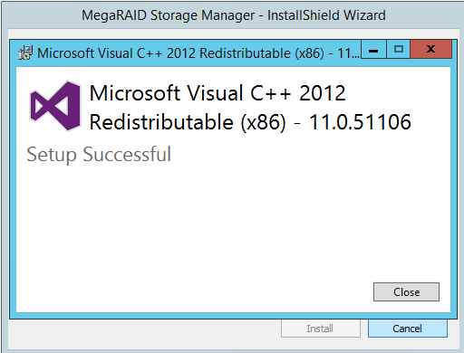 Как установить MegaRAID Storage Manager (MSM) в windows