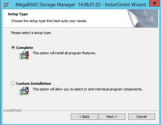 Как установить MegaRAID Storage Manager (MSM) в windows server 2012R2-11