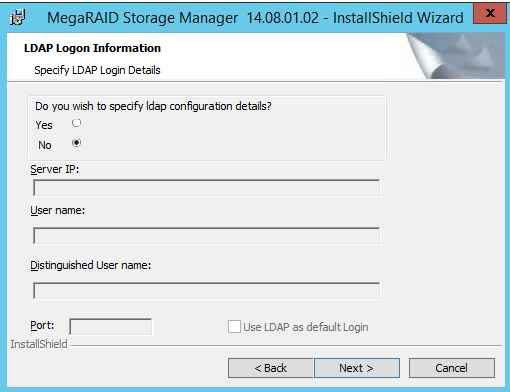 Как установить MegaRAID Storage Manager (MSM) в windows server 2012R2-12