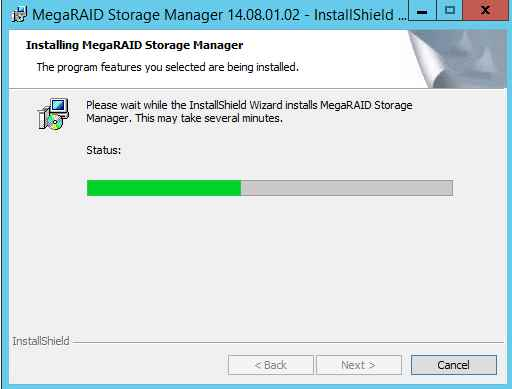 Как установить MegaRAID Storage Manager (MSM) в windows server 2012R2-14