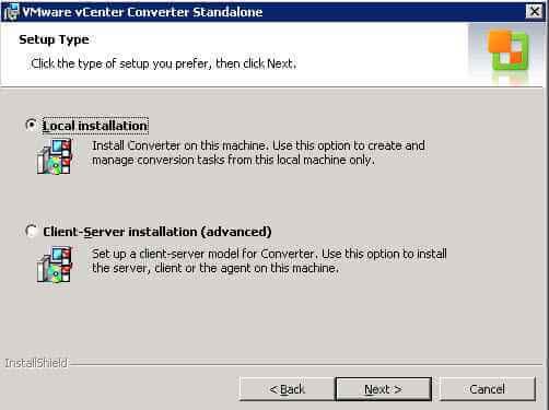 Как установить VMware vCenter Converter Standalone 5.x.x-06
