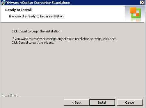 Как установить VMware vCenter Converter Standalone 5.x.x-07