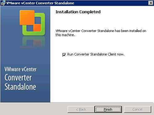 Как установить VMware vCenter Converter Standalone 5.x.x-09