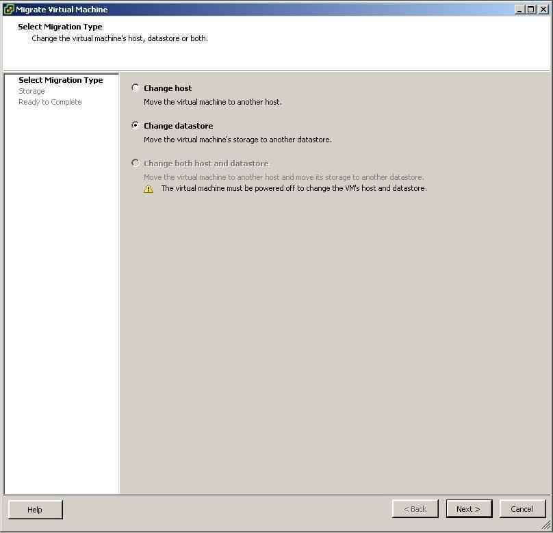 Как включить VMotion В vmware Sphere 5.x и мигрировать vm-06