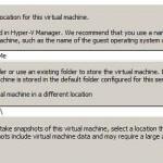 Как восстановить виртуальные машины Hyper-V при копировании на другой хост в windows server 2008R2