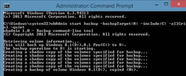 Резервное копирование и восстановление образа системы в Windows 8.1-01