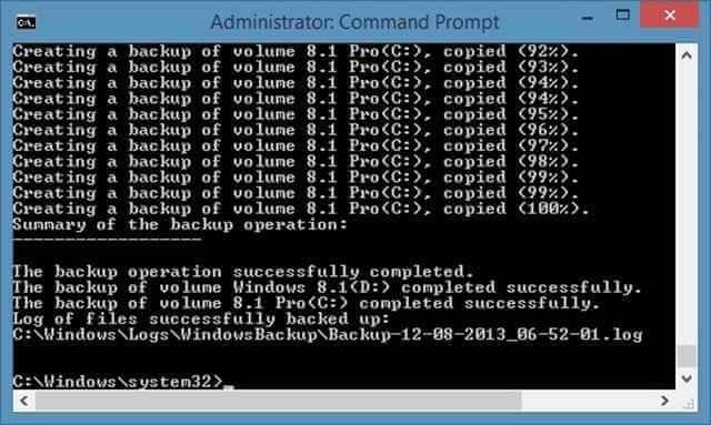 Резервное копирование и восстановление образа системы в Windows 8.1-02