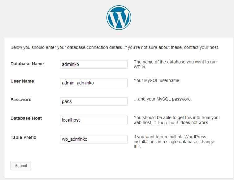 Установка WordPress-34