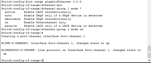 Что такое и как настроить Link Aggregation Control Protocol (LACP) на примере Cisco-05