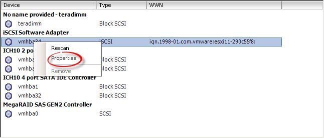 Как добавить iscsi адаптер в ESXI 5.x.x и подключить iscsi диск-04