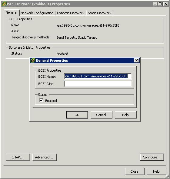 Как добавить iscsi адаптер в ESXI 5.x.x и подключить iscsi диск-06