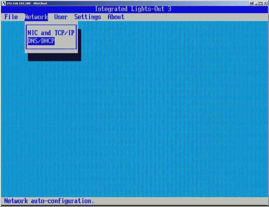 Как настроить ILO управление на сервере HP dl380 g7-03
