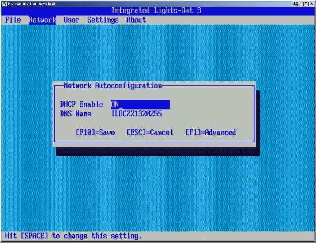 Как настроить ILO управление на сервере HP dl380 g7-04