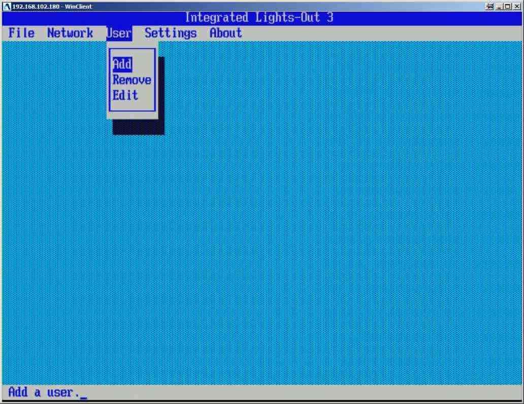 Как настроить ILO управление на сервере HP dl380 g7-05