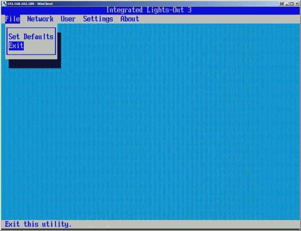 Как настроить ILO управление на сервере HP dl380 g7-09