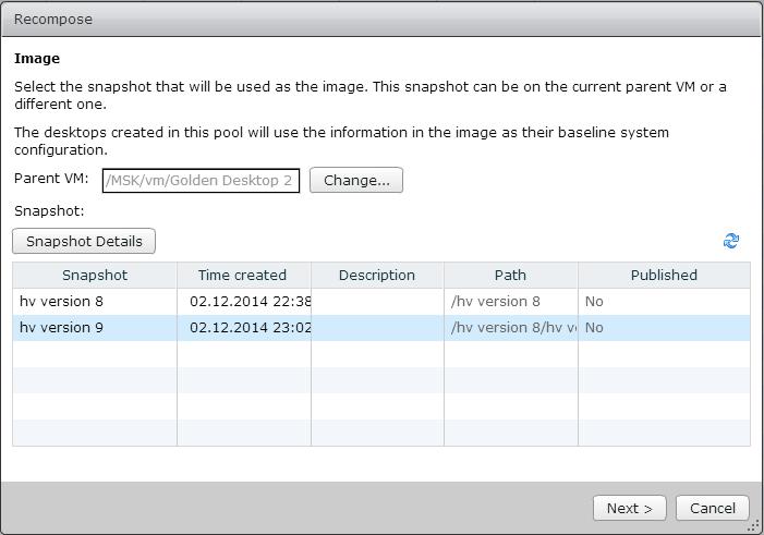 Как настроить Space Reclamation для старых пулов VMware View-04