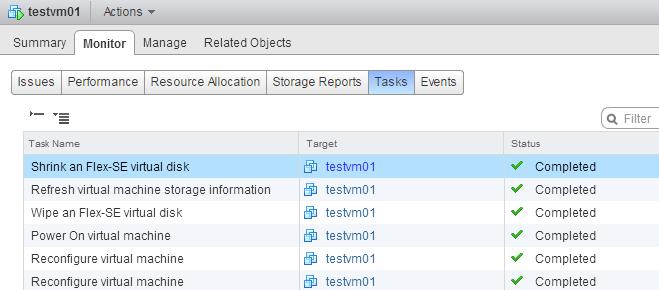 Как настроить Space Reclamation для старых пулов VMware View-06