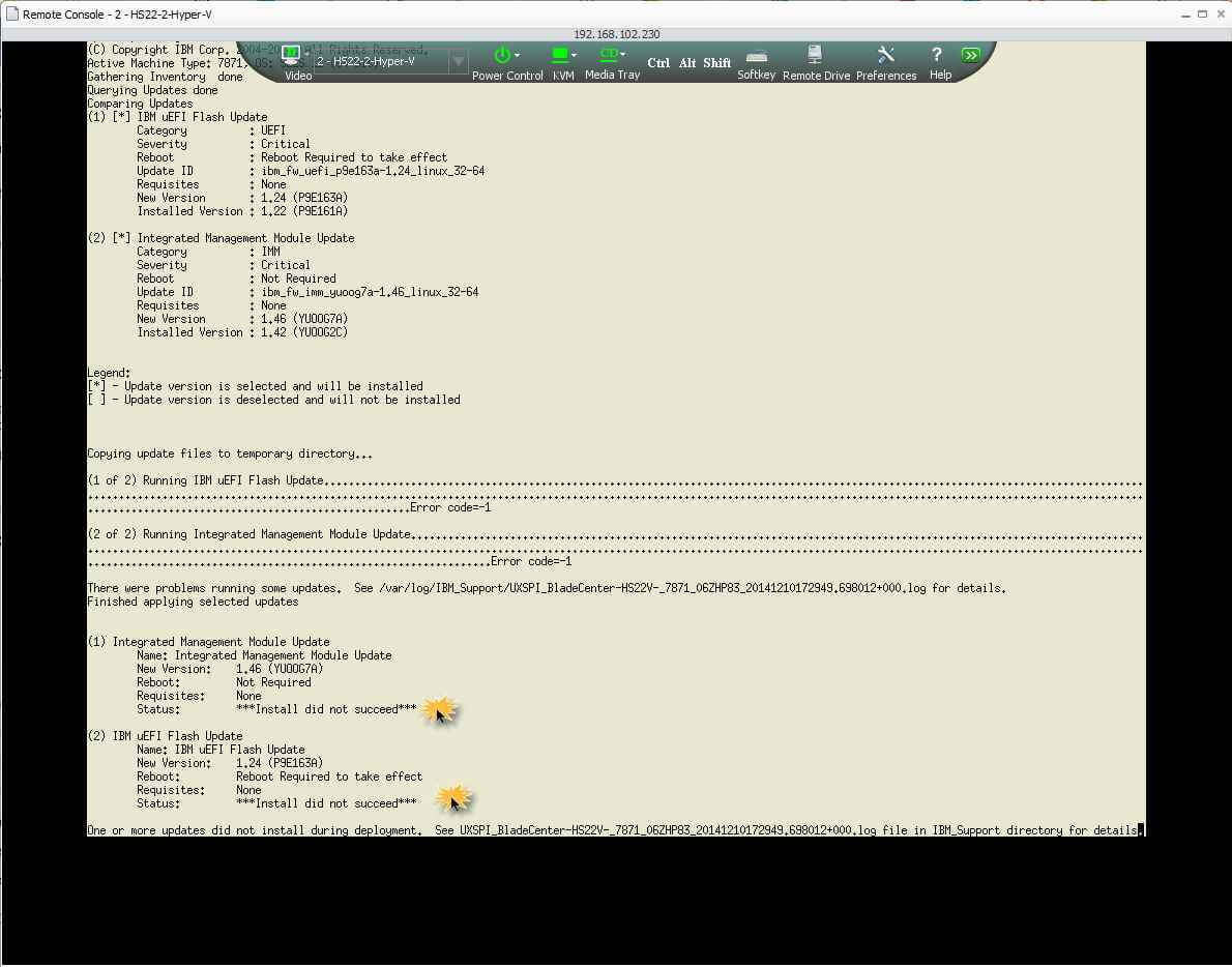Как обновить вручную биос на блейдах (Серверах) HP на примере HS22 7871H2G-01