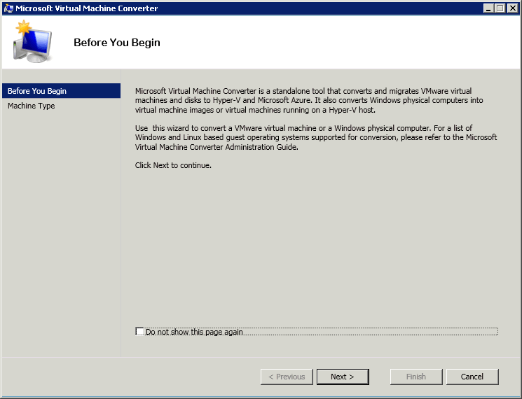 Как сконвертировать виртуальную машину ESXI 5.5 (vmdk) в Hyper-V (vhdx) с помощью Virtual Machine Converter 3.1-01