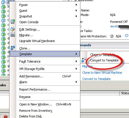 Как создать шаблон виртуальной машины в ESXI 5.x.x и vCenter-01