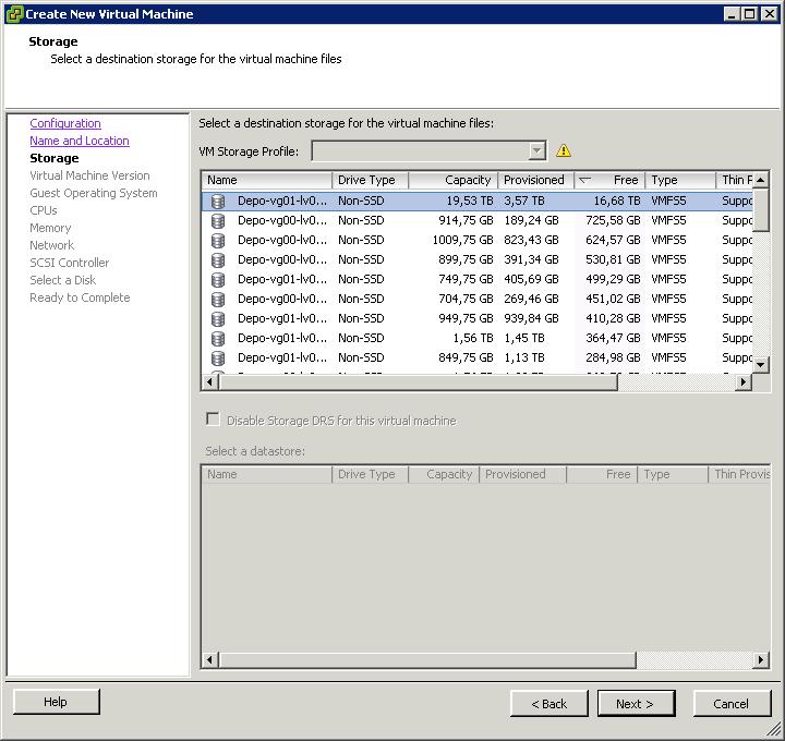 Как создать виртуальную машину в vCenter и ESXI 5.x.x-16