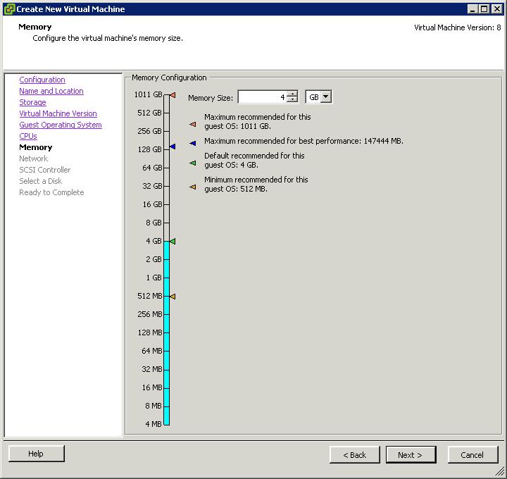 Как создать виртуальную машину в vCenter и ESXI 5.x.x-20
