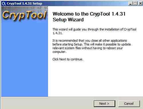 Как установить CrypTool-01