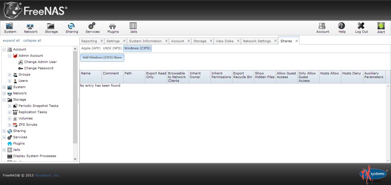 Как установить FreeNas и создать на нем файловое хранилище.-12